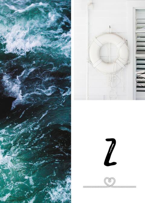 Motyw liny, czyli numery stołów na morskie wesele