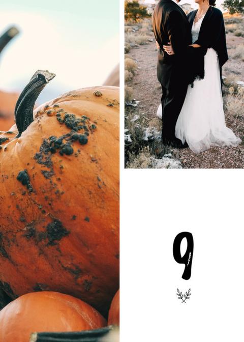 Rustykalne numery stołów na wesele