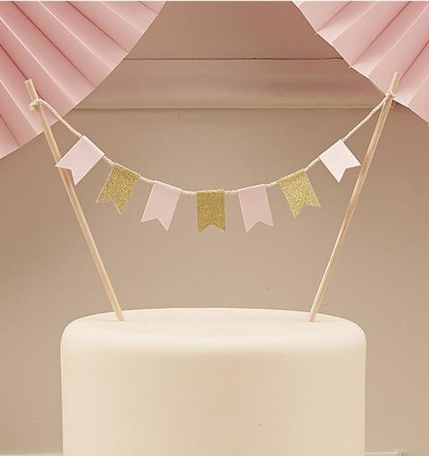 Girlanda na tort weselny